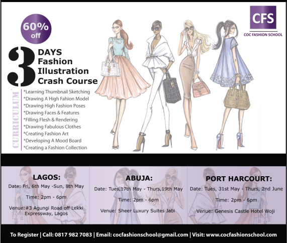 Fashion Illustration Short Course 2016